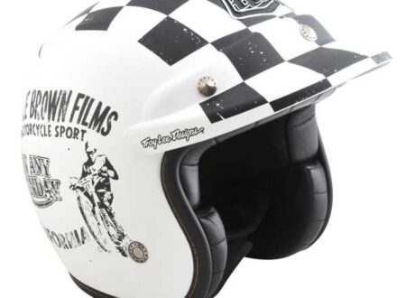 """11 openface sunday wht 450x330 - Limited Edition """"On Any Sunday"""" Helmet by Troy Lee Designs"""