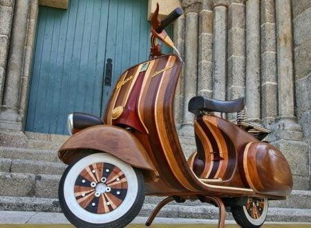 121 450x330 - The Wooden Vespa by Carlos Alberto