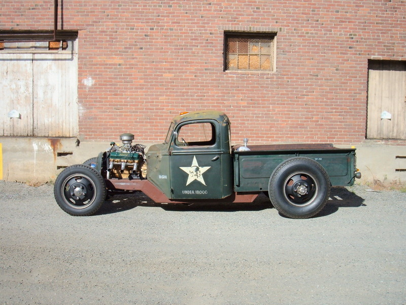 Rat Rod Truck - High Gear Hauler