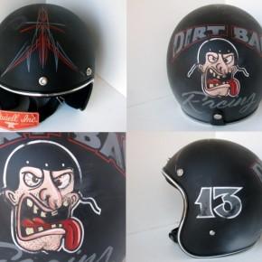 4DIRTBAG 1 290x290 - Distressed Helmets by Old School Helmets
