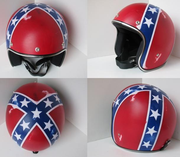 Bell Racing Helmets >> Distressed Helmets by Old School Helmets