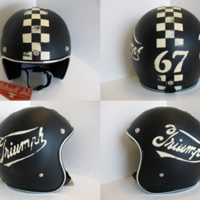 4triumph 290x290 - Distressed Helmets by Old School Helmets