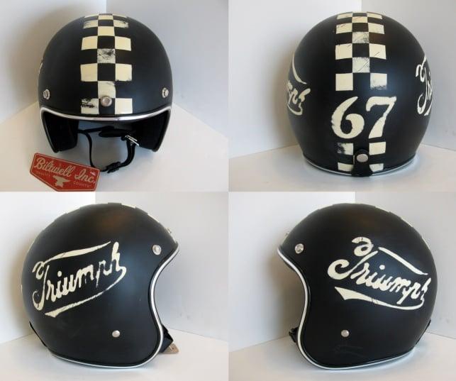 distressed helmets dig the lid