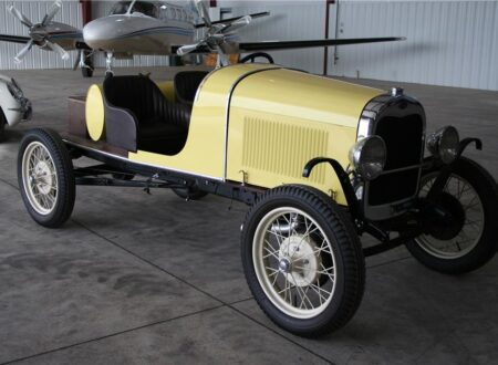 98169 Front 3 4 Web 450x330 - 1931 Ford Model A