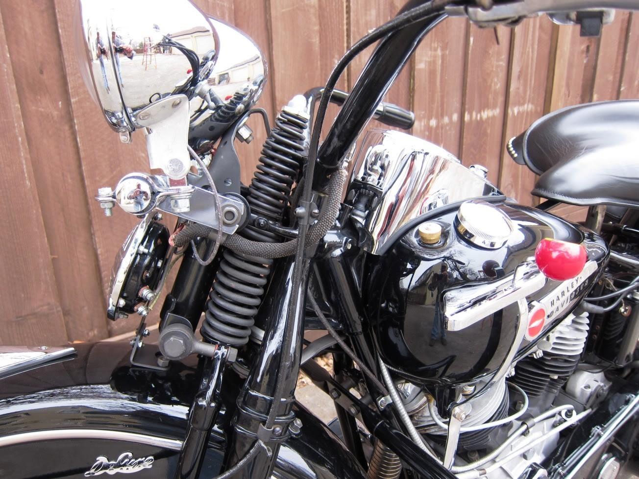 Harley Davidson: 1948 Harley-Davidson FL Panhead By Adolph Ogar