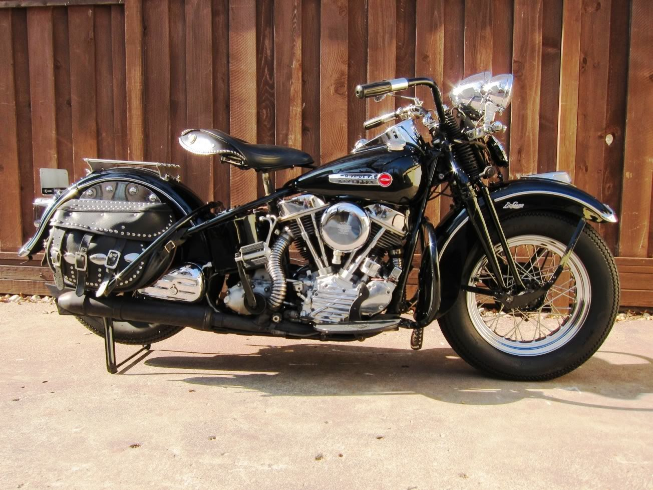 1948 Harley Davidson Fl Panhead By Adolph Ogar on new harley parts