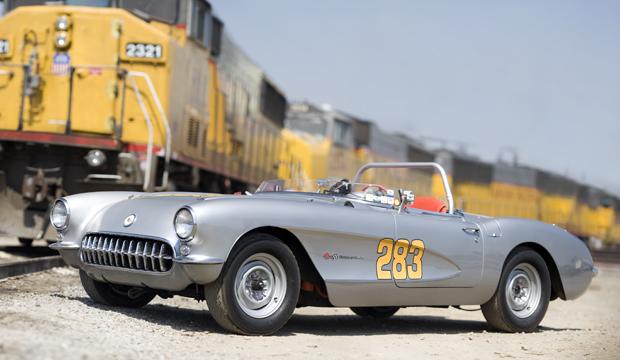 01 57 Vette F3QTR 03 1957 Chevrolet Corvette Racer