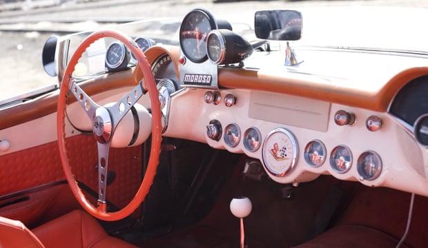 05 57 Vette INT 44 1957 Chevrolet Corvette Racer
