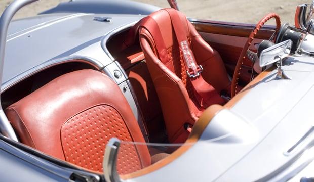 06 57 Vette INT 38 1957 Chevrolet Corvette Racer