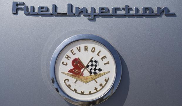 07 57 Vette DTL 15 1957 Chevrolet Corvette Racer