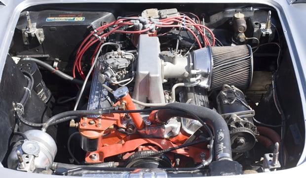 08 57 Vette ENG 43 1957 Chevrolet Corvette Racer