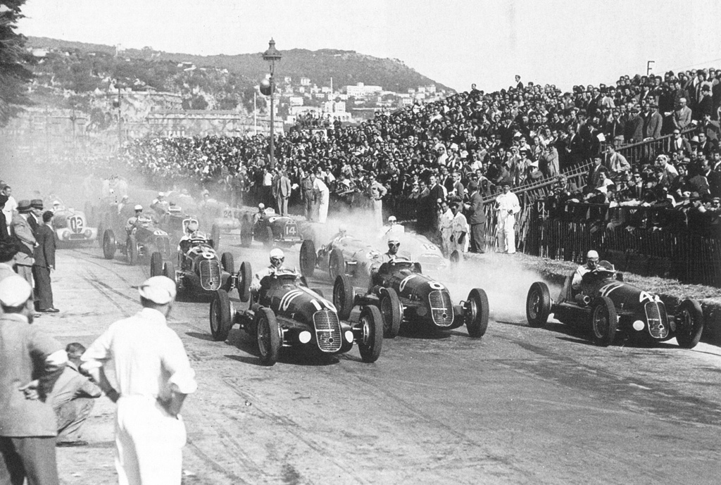 first ever formula 1 race nice france 1946. Black Bedroom Furniture Sets. Home Design Ideas