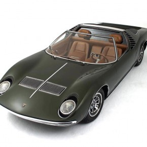 Bertone Lamborghini Miura Roadster 1968 061 290x290 - The 1968 Bertone Lamborghini Miura