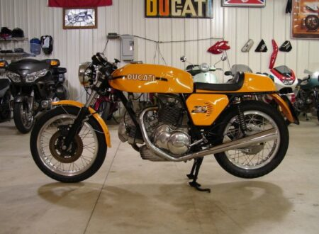 Screen shot 2011 04 24 at 13.48.38 450x330 - Original, Unrestored 1974 Ducati 750 Sport