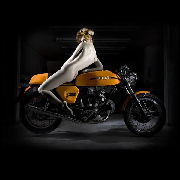 Elizabeth Raab Ducati Art