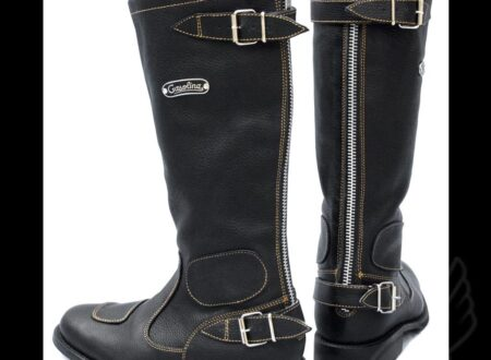 gas cboots vintage cafe racer caferacer bobber brat chopper custom motorcycle riding gear hand made gasolina classic leather riding boots 3 450x330 - Vintage Motorcycle Boots by Gasolina