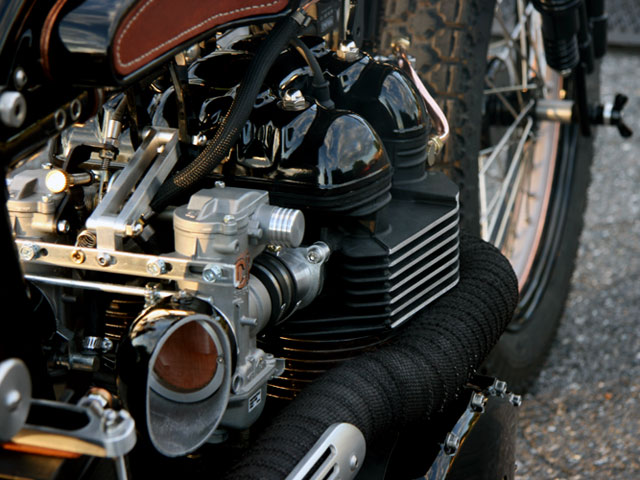tt deluxe pic7 Triumph TT Deluxe Café Racer by LC Fabrications