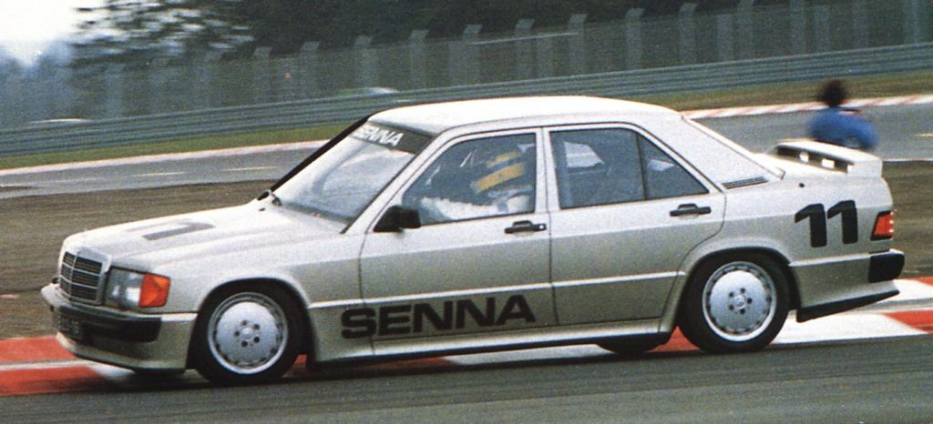 190 senna Ayrton Senna Arrives   The 1984 Mercedes Nürburgring Race