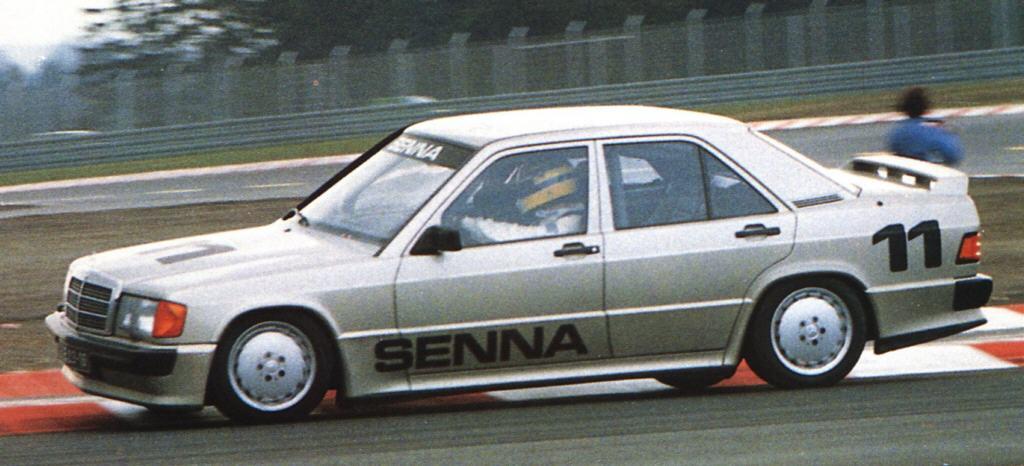 F1 1984 Mercedes 190 Nurburgring Race