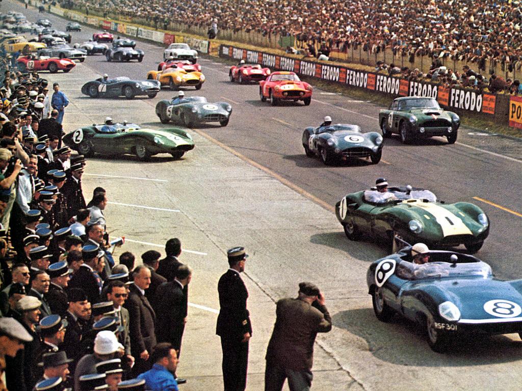 1959 le mans 24hr Colourful Le Mans