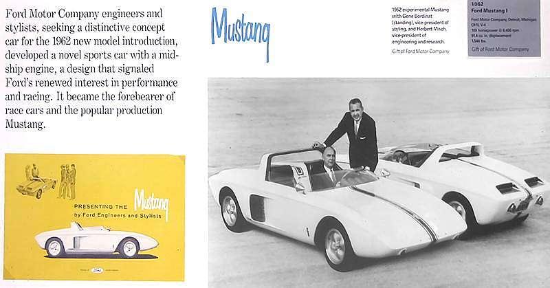 Mustang Prototype I Advertisement