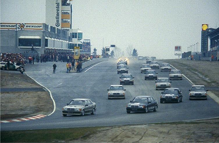 Ayrton Senna 1984 Mercedes Saloon Car Race