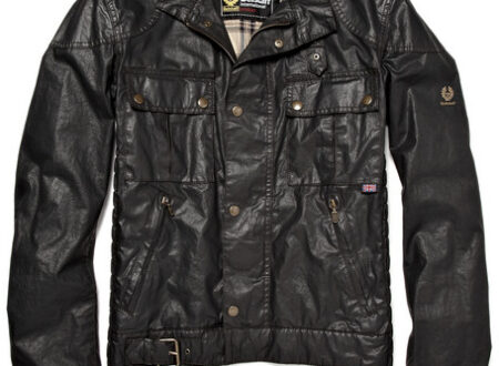 301079 mrp in l 450x330 - Gangster Waxed Jacket by Belstaff