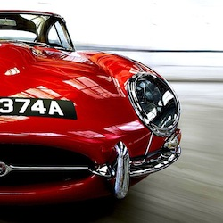 Jaguar E Type 1971 052 - Candy Apple E-Type