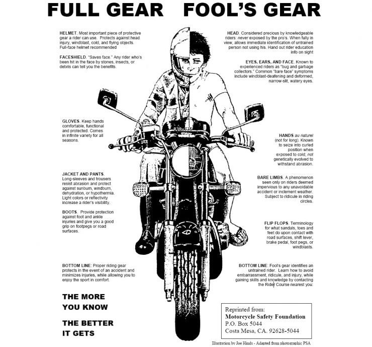 Motorcycle Full Gear Fool's Gear High Resolution
