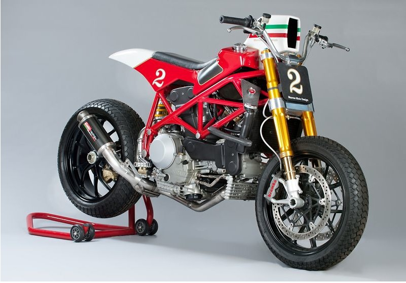 Ducati 996S F1 Tracker by Marcus Moto Design