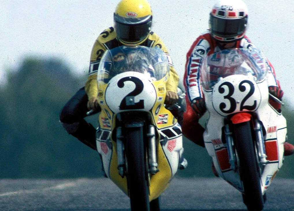 barry sheene kenny roberts 1979 british grand prix