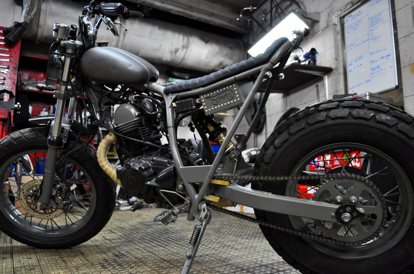 TW125 Edwin Profil G Stealth by Blitz Motorcycles