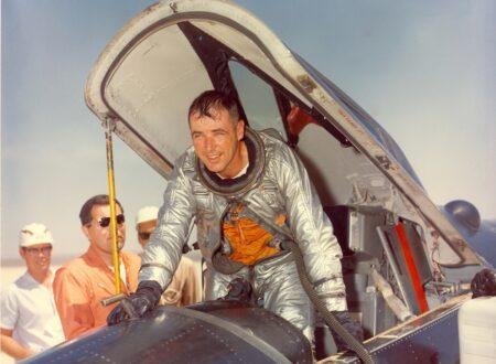 bobwhite 450x330 - Major Robert White's X-15 Space Flight