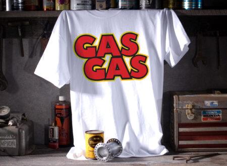 gasgaswhitelarge 1249047339 450x330 - Gas Gas Tee by Metro Racing