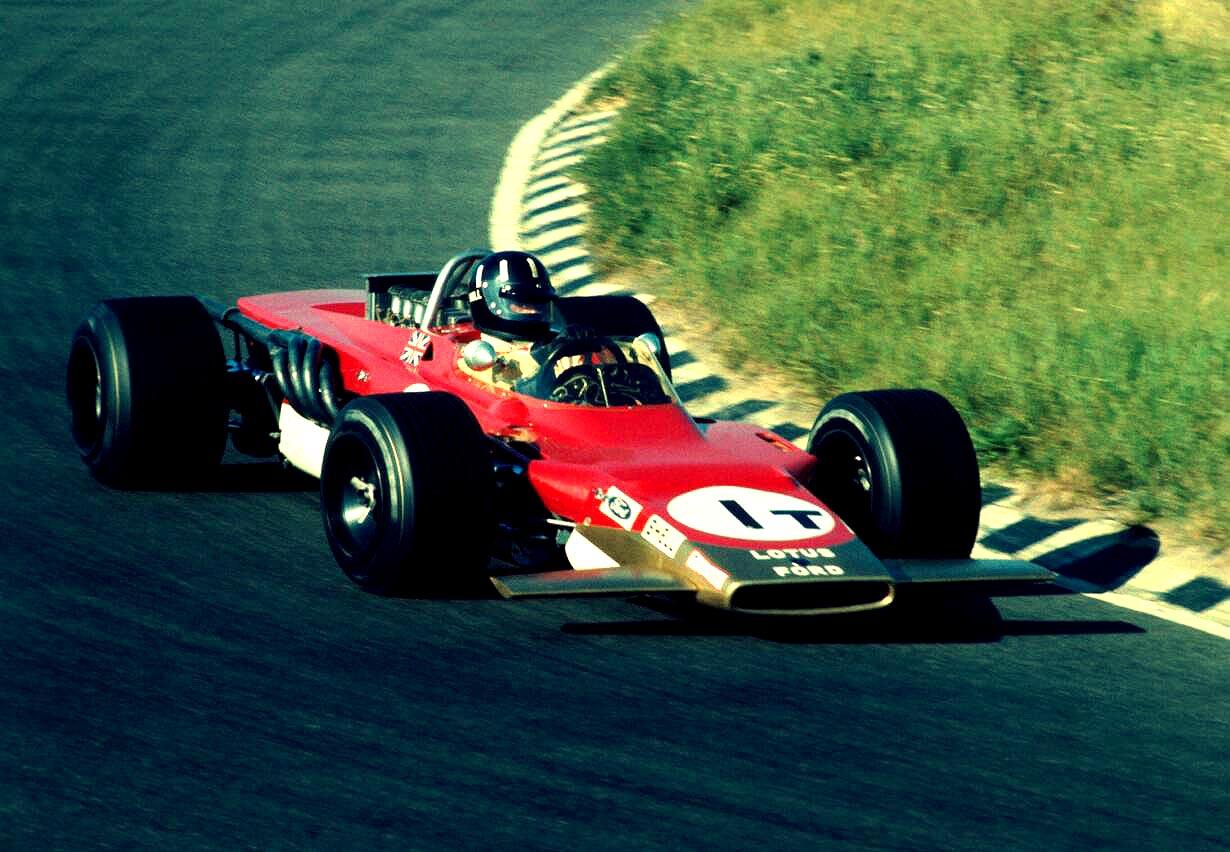 Lotus 63 4x4 Formula 1 Car Cut...