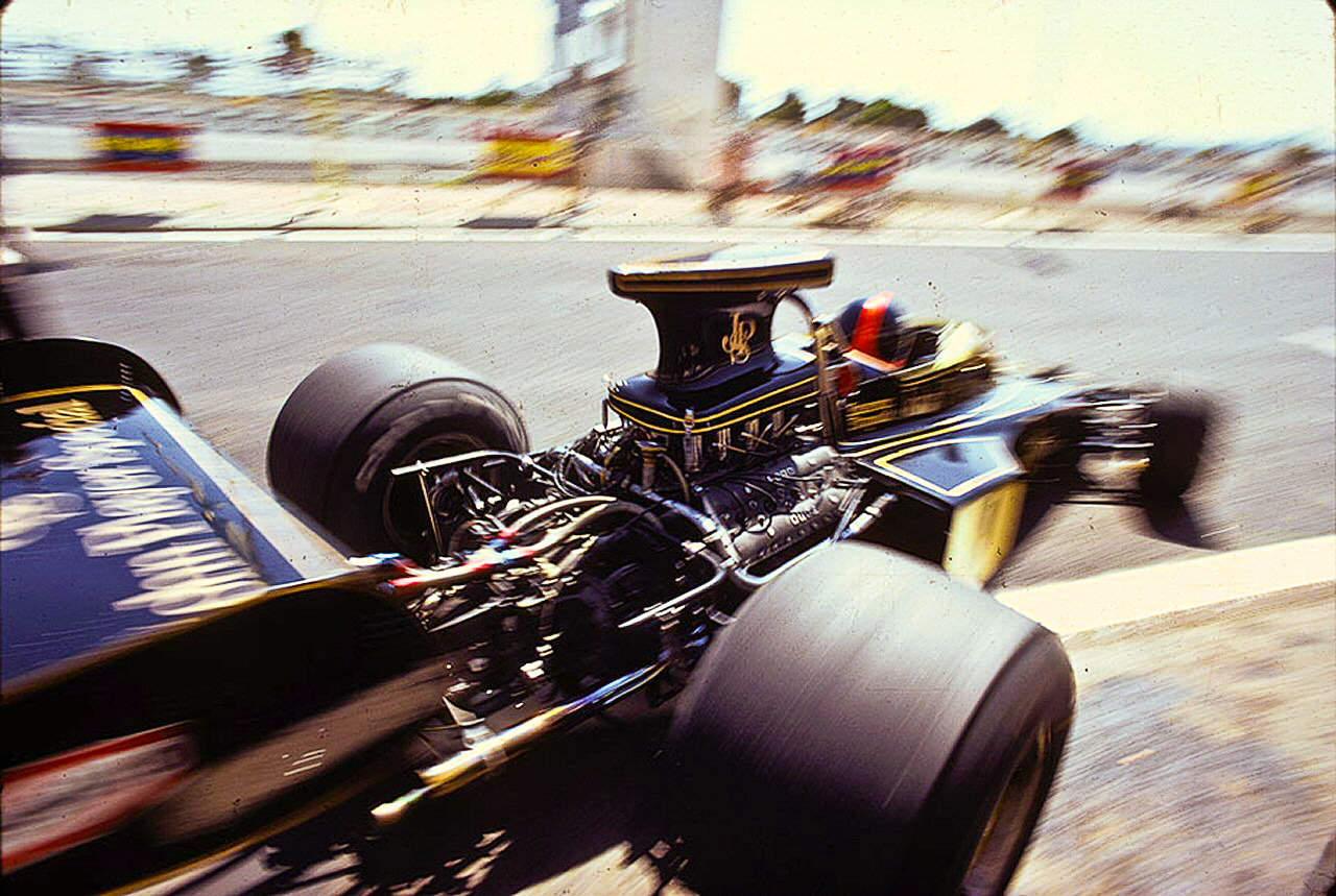 mayphotoofthemonth Lotus 72D John Player Special