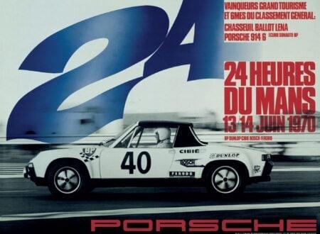 porsche le mans poster 1970 450x330 - Porsche Le Mans Poster Circa 1970