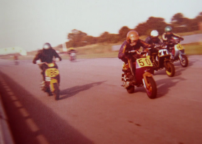 Isle of man scooter racing 1970