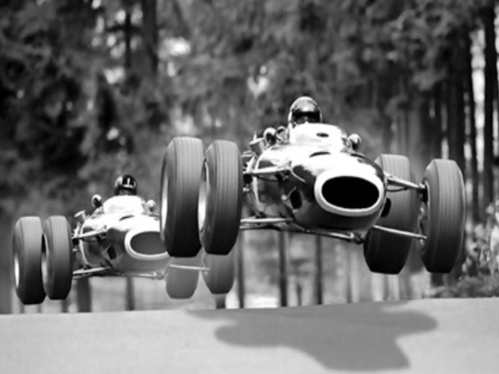 Before Formula 1 Cars Had Wings, They Used To Fly.