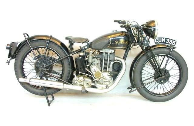 1936 Sunbeam Model 14