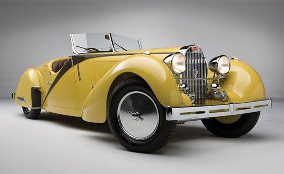 1937 Bugatti Type 57 Roadster by Worblaufen