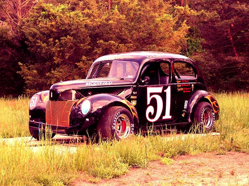 1940 Ford Circle Track Race Car