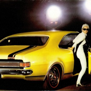Original 1968 Holden Monaro Brochure