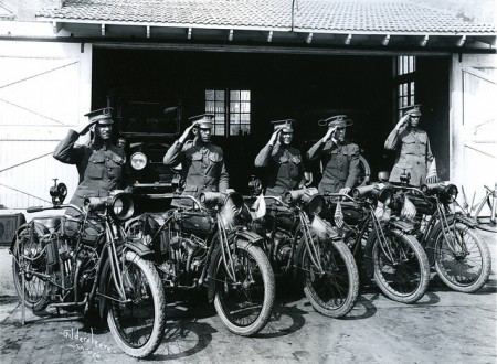 Motorcycle Police 1918