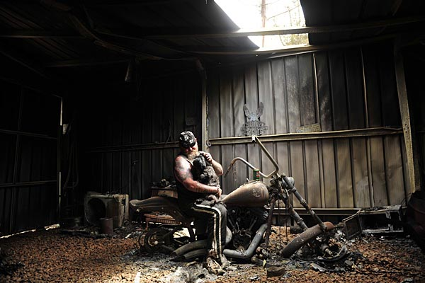 Bushfire Harley
