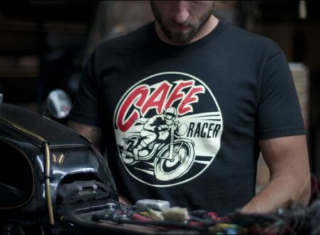 Café Racer Tee by Dime City Cycles
