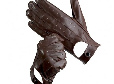 Men's Leather Driving Gloves by Aspinal
