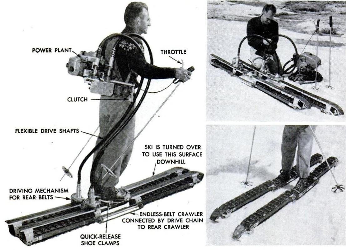 Tractor Skis