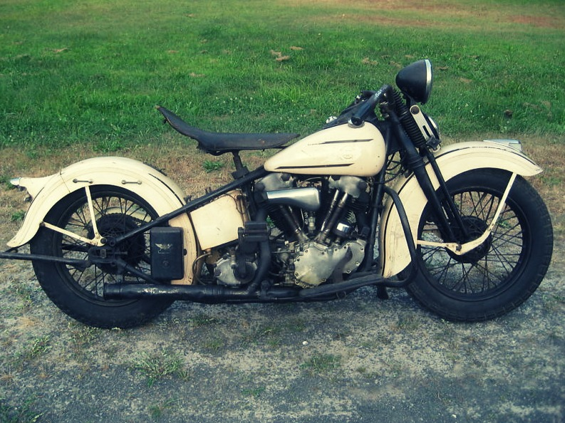 Harley Davidson: EBay Finds: 1937 Harley EL Knucklehead
