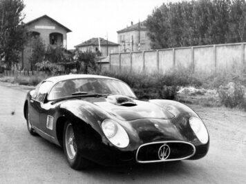 1957 Maserati 450S Costin-Zagato Coupe